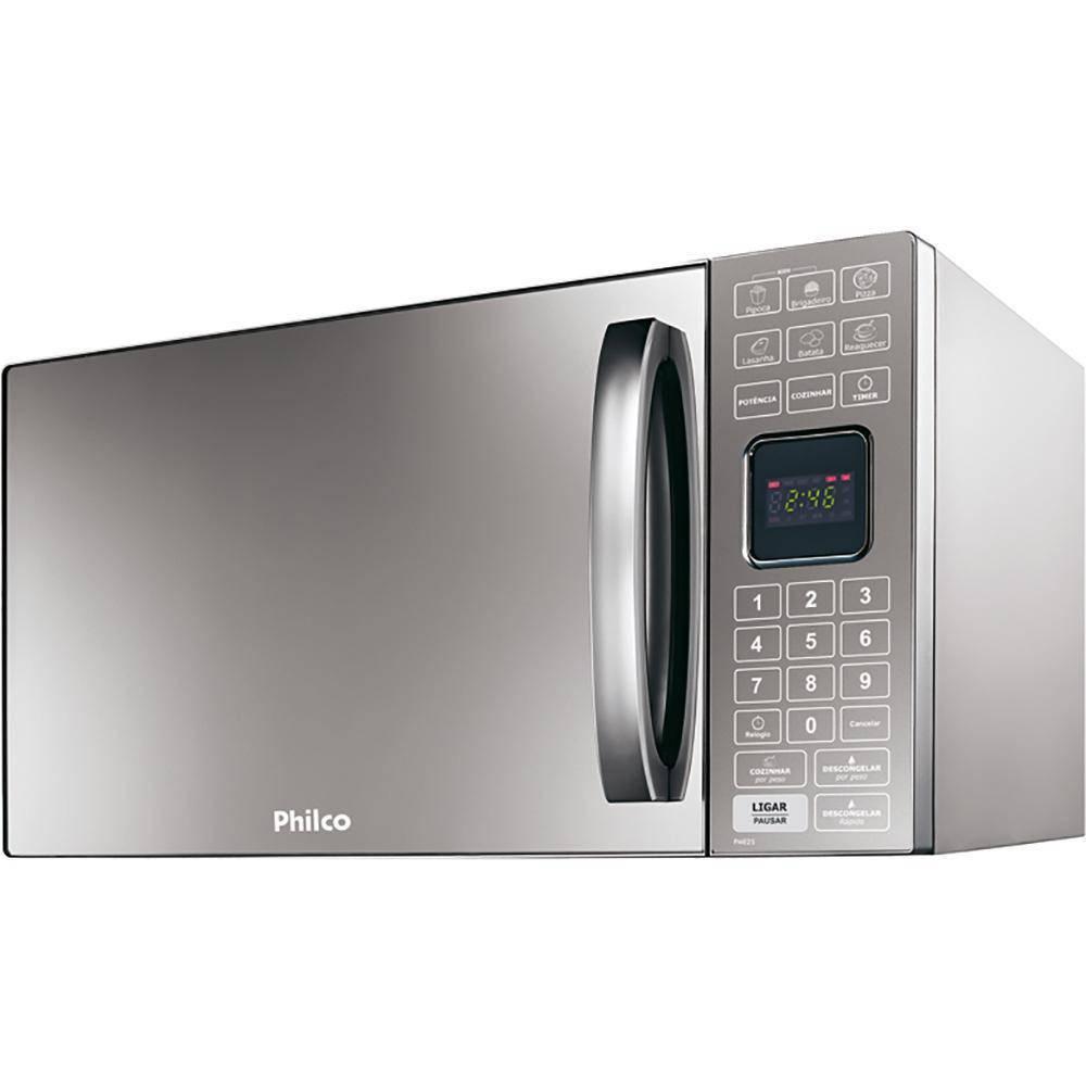 Forno de Micro-ondas Philco Espelhado 25L 220V PME25