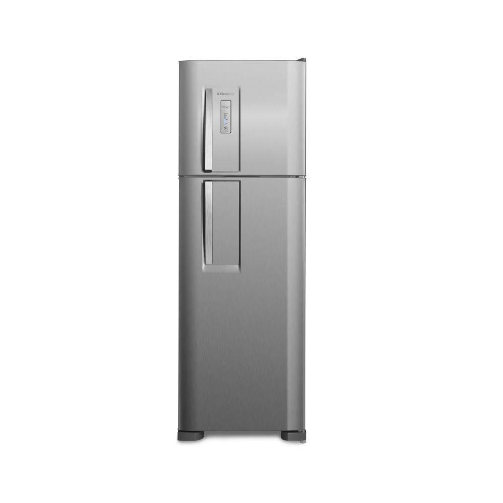 Refrigerador Frost Free 370l Inox (dfx42) Electrolux