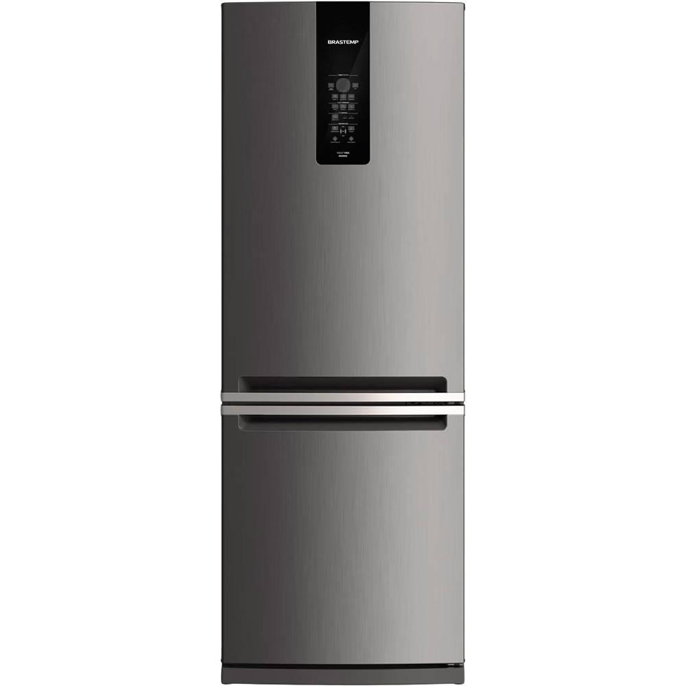 Geladeira Brastemp Frost Free 443 litros - BRE57 Inox 220v