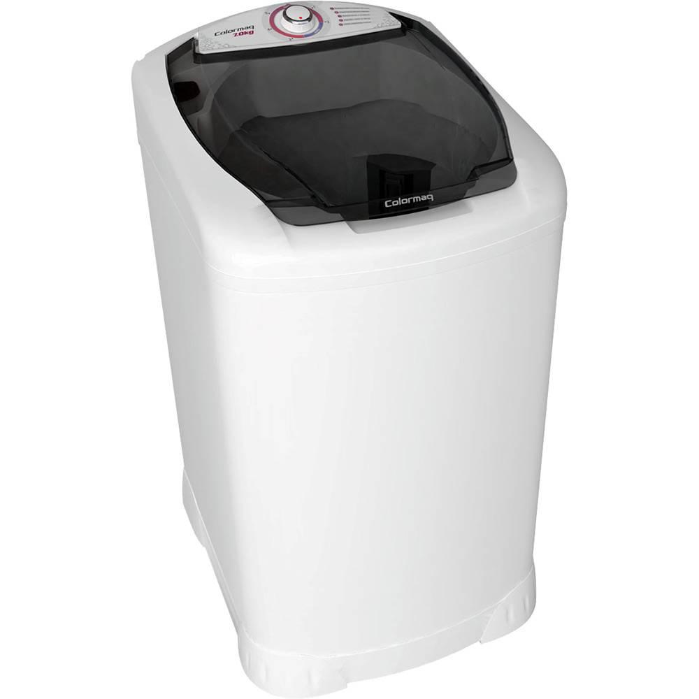 Lavadora de Roupas Colormaq 7kg Semi Automatica  LCM - Branca