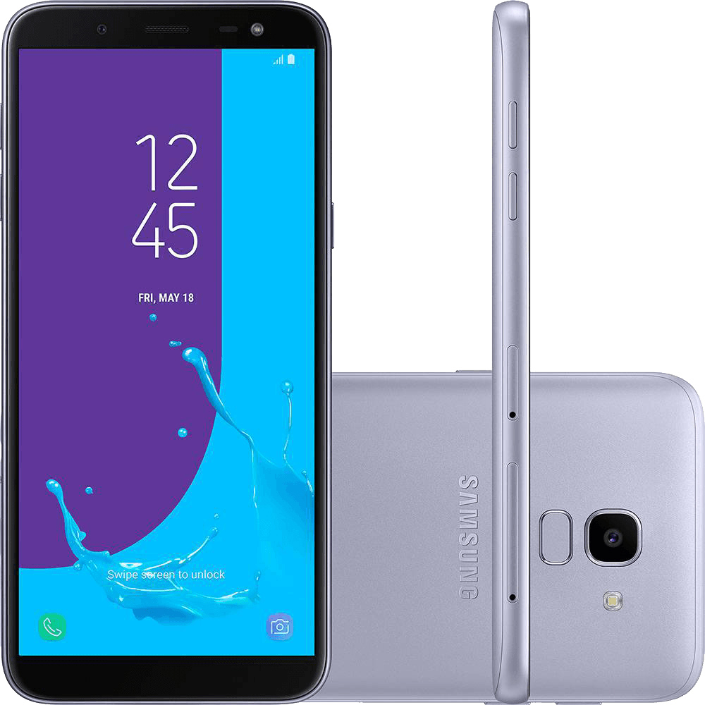 Smartphone Samsung Galaxy J6 64GB Dual Chip Android 8.0 Tela 5.6
