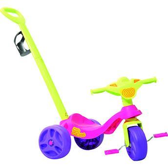 Triciclo KID CROSS Passeio Meninas Bandeirante 636