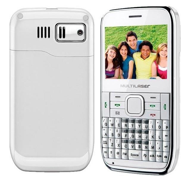 Celular Smartphone Stylus 4 Chip WIFI Branco P3184 Multilaser