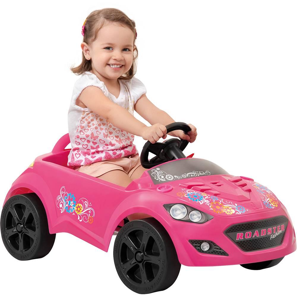 Mini Veículo Infantil Roadster Pink - Brinquedos Bandeirante
