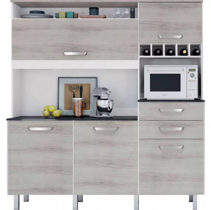 Armário de Cozinha 5 Portas - Nesher Diva Smart