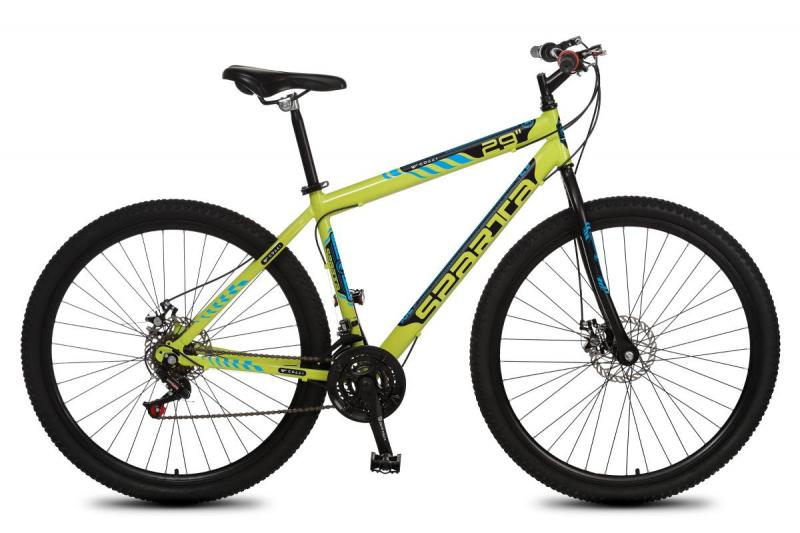 Bicicleta Colli Sparta MTB A29 21M Aro Aero Freios a Disco - 415