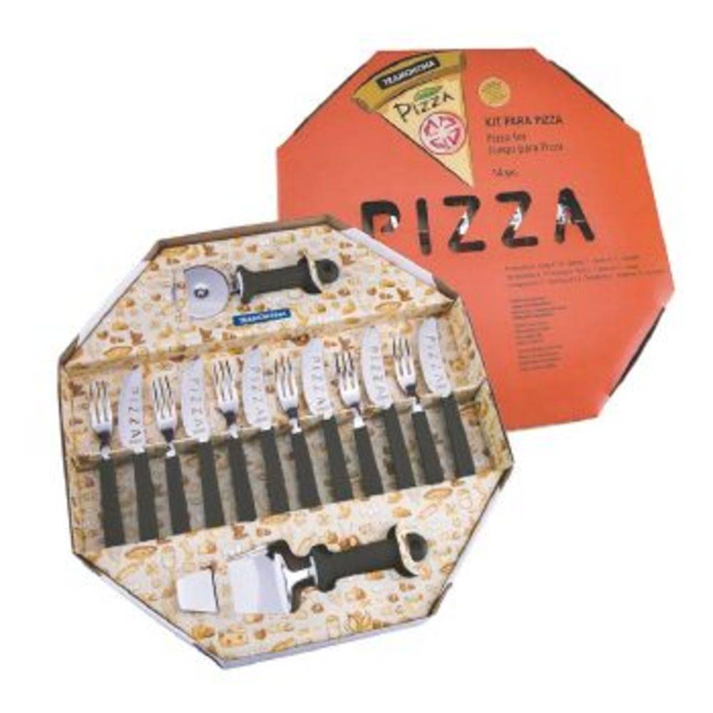 Kit Para Pizza 14 Pecas Tramontina - 25099/022