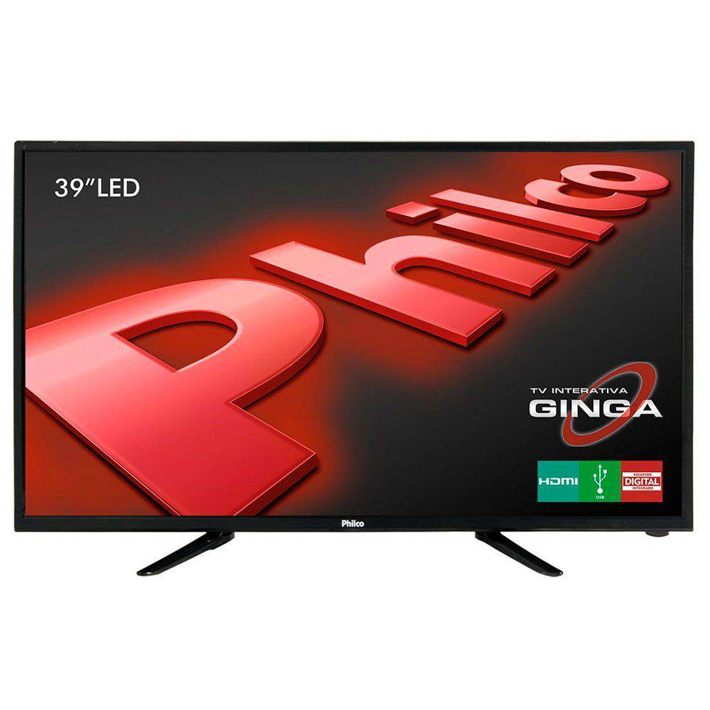 Smart Tv Led 39 Polegadas Philco PH39E60DSGWA HD com Wi-Fi Hdmi USB Bivolt