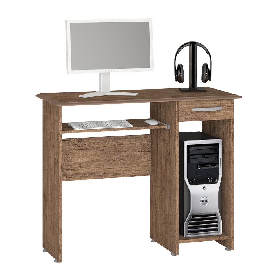 Mesa para Computador Siena New 1 GV Castanho - Notável
