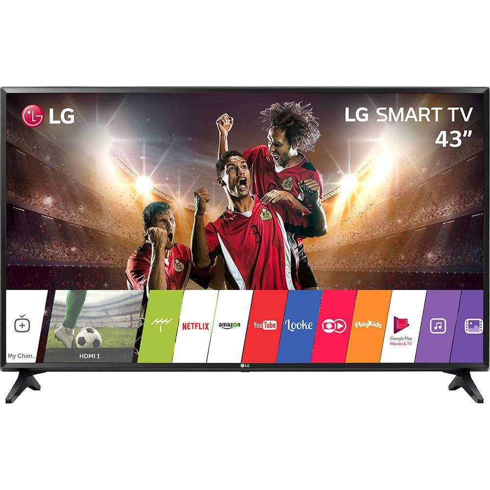 MarcaLG Tipo de TVSmart TV CorPreto Tecnologia da TelaLED Polegadas43