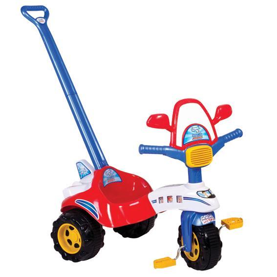 Triciclo Tico Tico Avião C/ Alça Magic Toys