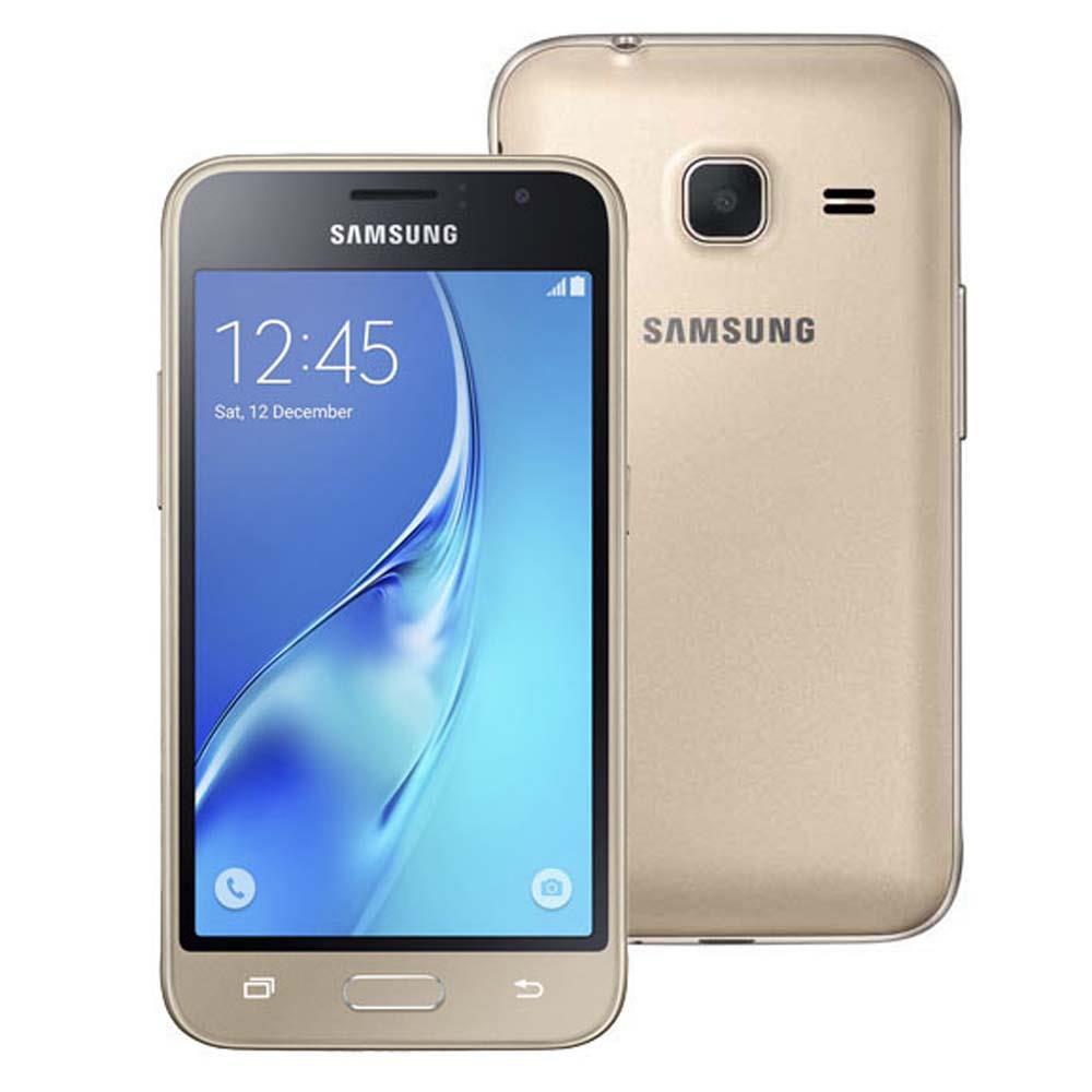 Smartphone Samsung Galaxy J1 Mini Duos Dourado com Dual Chip, Tela 4.0