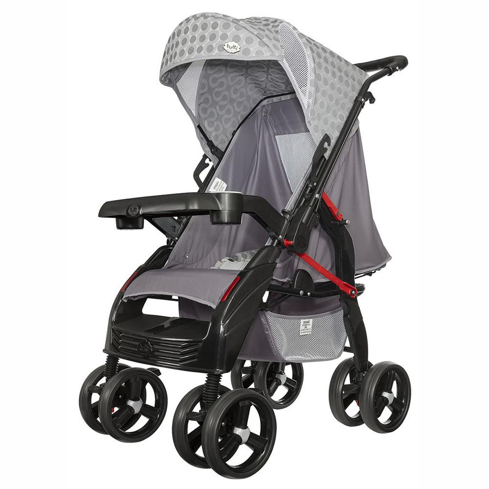 Carrinho de Bebê Tutti Baby Upper - Cinza
