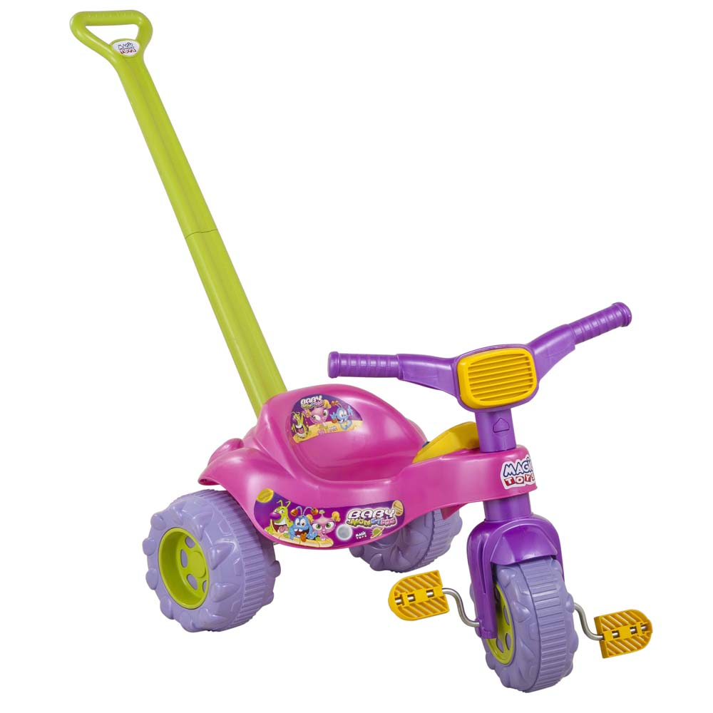 Tico Tico Monster com Som Magic Toys - Rosa