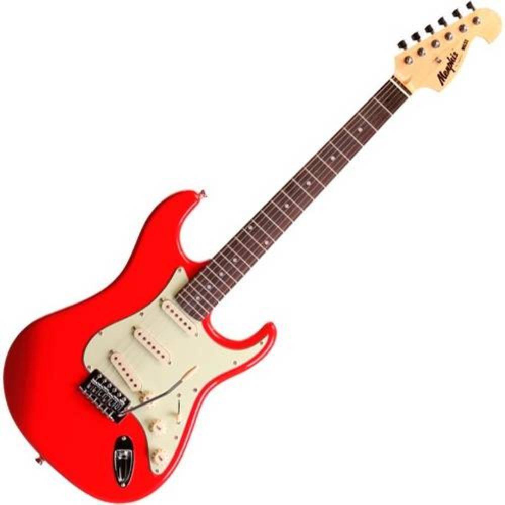 Guitarra Stratocaster Memphis Tagima Mg32 Vermelho Fiesta