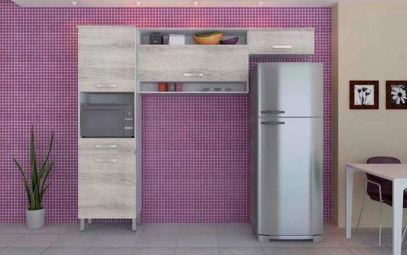 Cozinha Nesher Diva Clean com 3 Pecas