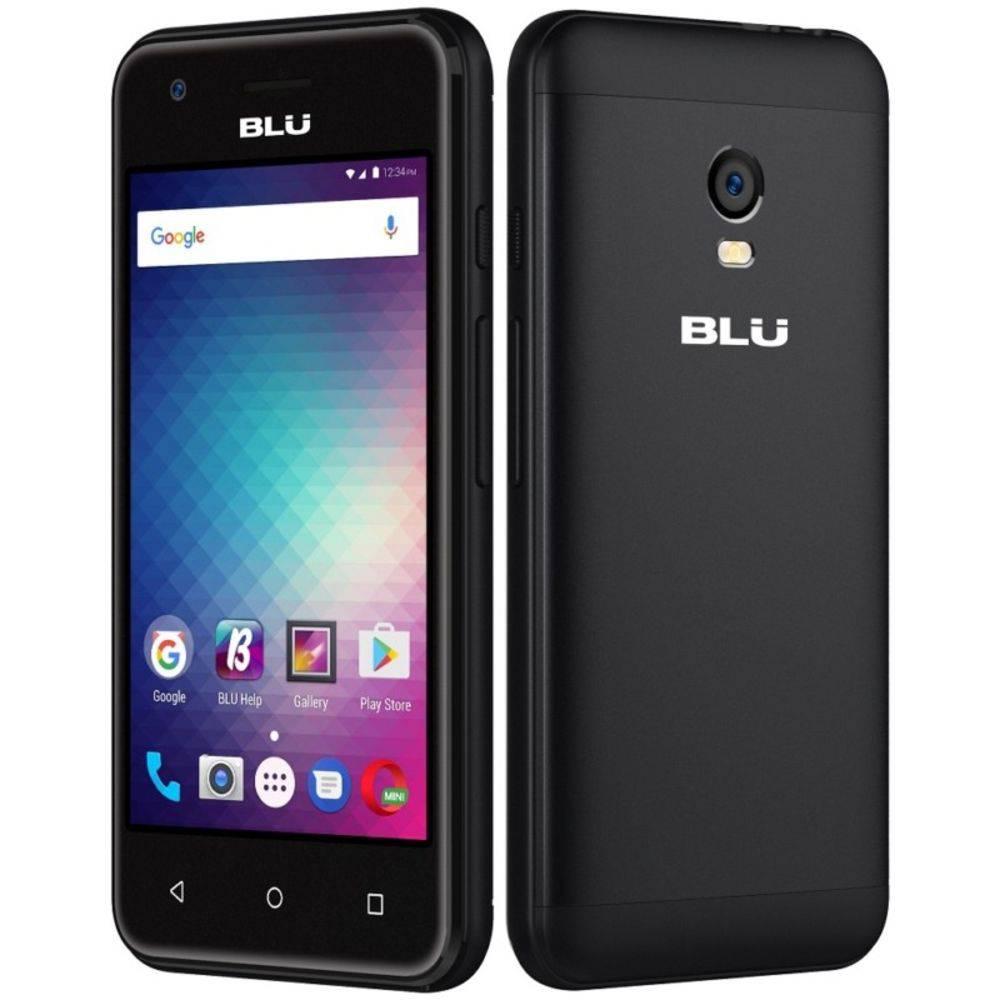 Smartphone blu dash l3 3g dual sim 4gb android 6.0 preto