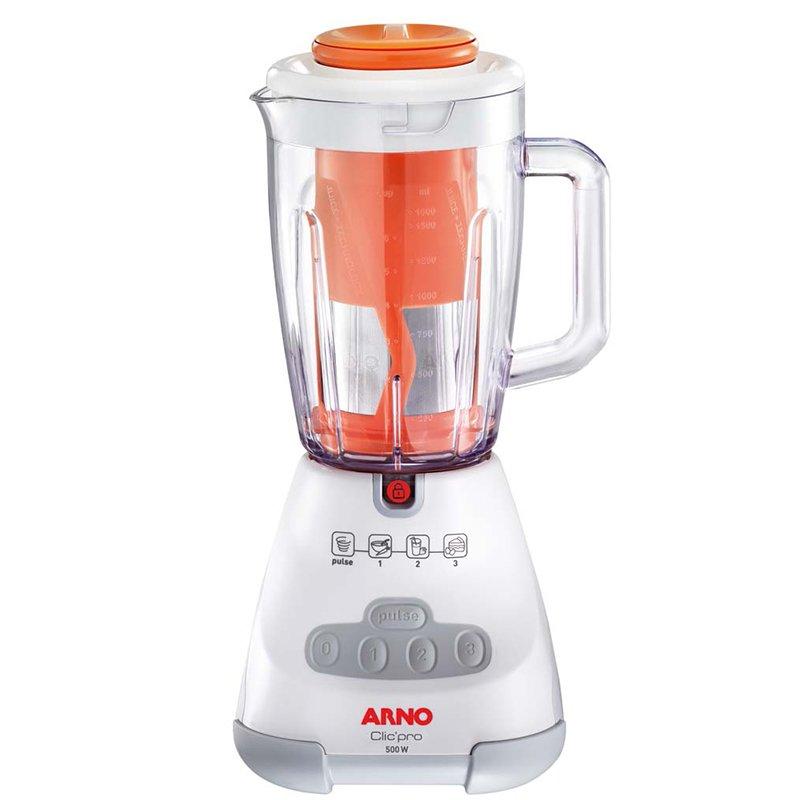 Liquidificador Arno Clic Pro 500W Juice 3 Velocidades Filtro LN4S