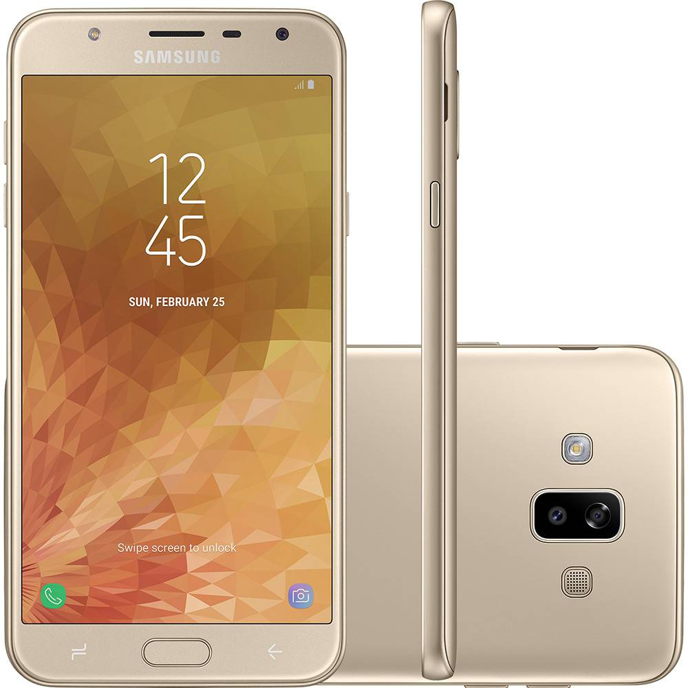 Smartphone Samsung Galaxy J7 Duo Dual Chip Android 8.0 Tela 5.5