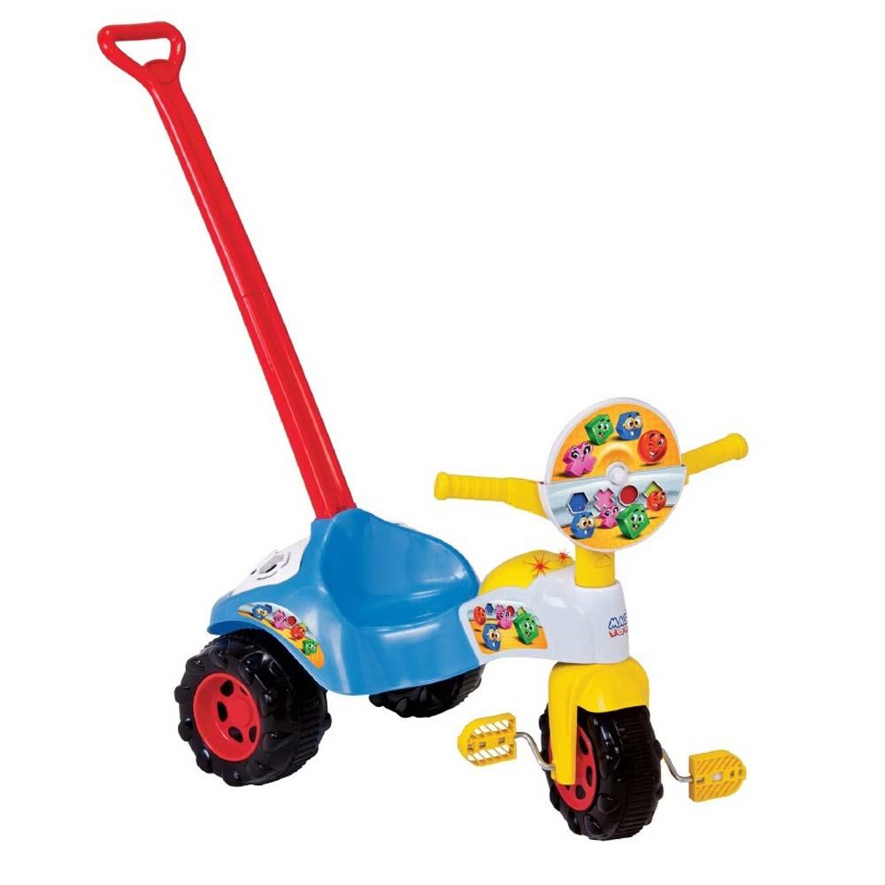 Tico Tico Formas com Som Magic Toys - Azul