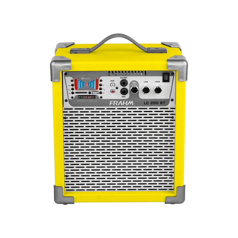 Caixa amplificada LC200 bluetooth da Frahm